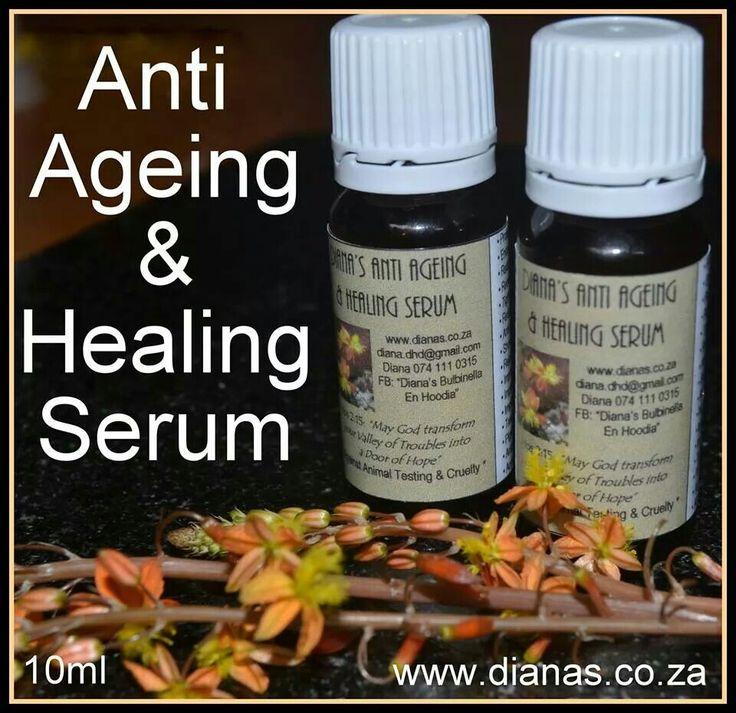 Myrrh anti ageing & healing serum