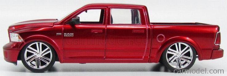 JADA 97133-54040RM Scale 1/24  DODGE RAM 1500 HEMI 5.7 PICK-UP CUSTOM 2014 RED MET