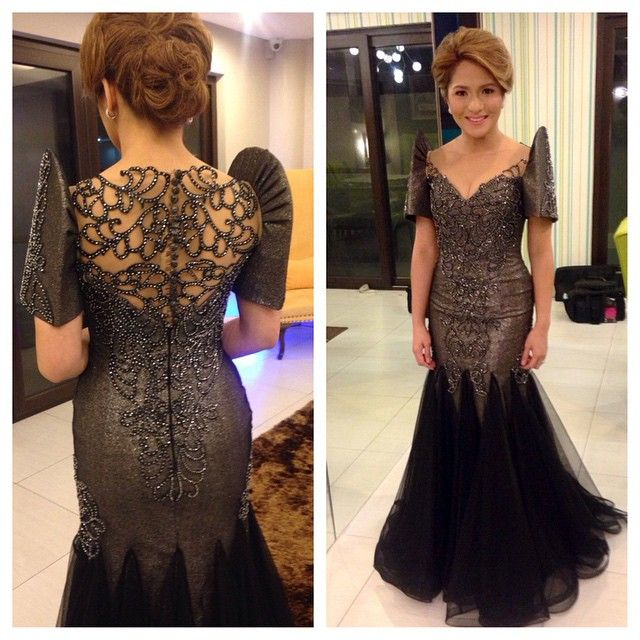 277 best Filipiniana gown/ clothing / dress/ traditional costumes ...