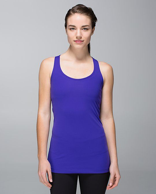 Lululemon cool racerback in bruised berry - on my want list!!!