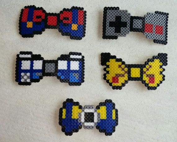 Check out this item in my Etsy shop https://www.etsy.com/listing/234860576/themed-perler-bead-hair-bows