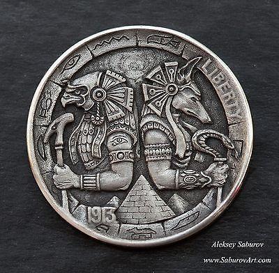 Hobo-Token-Horus-Anubis-by-Aleksey-Saburov.jpg (400×392)