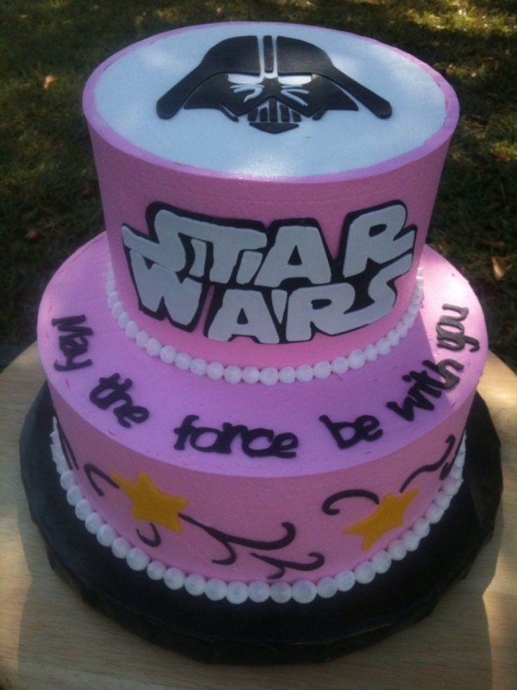 Star Wars In Pink  on Cake Central