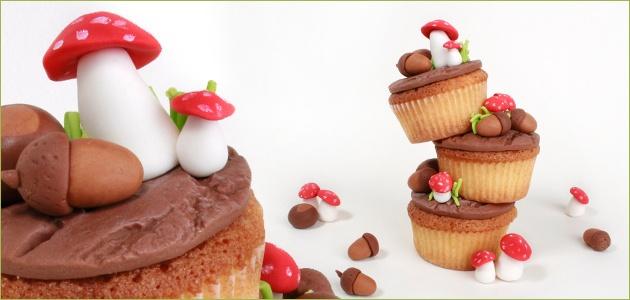 How to Stapelcupcake in herfst sfeer http://www.poppylicious.nl/herfst-2/stapel-cupcake-in-herfstsfeer/