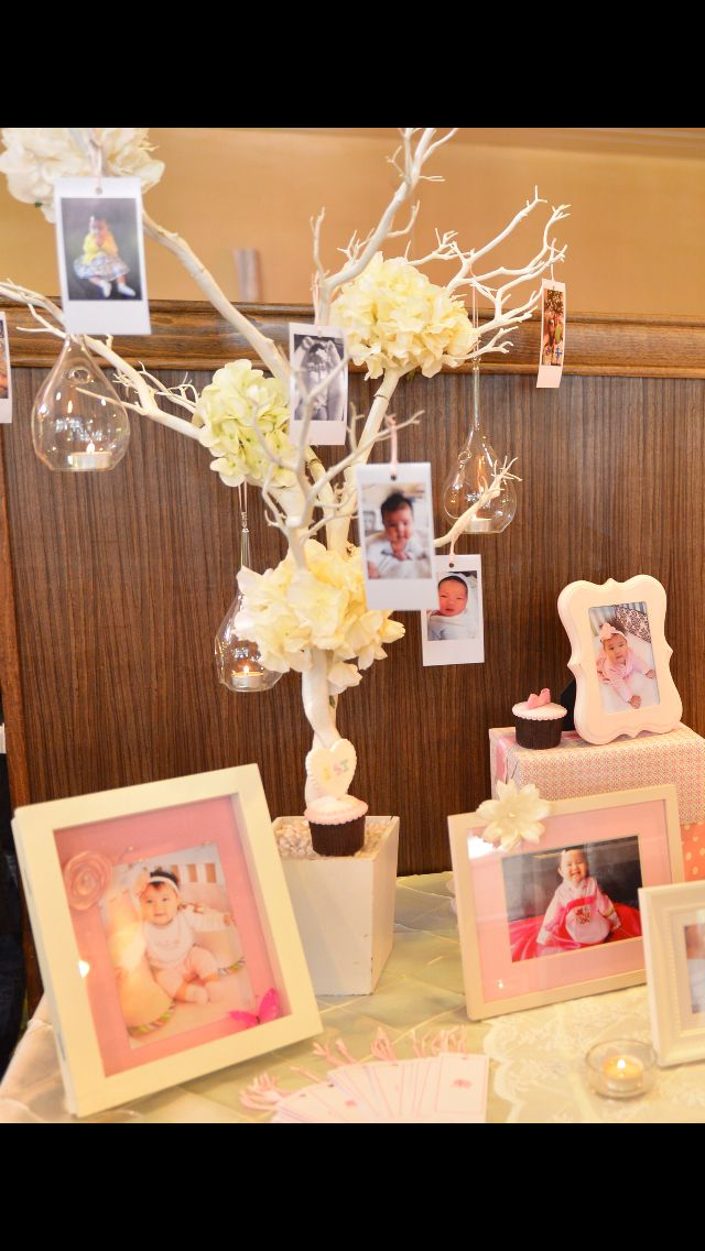 Picture Table Birthday Best Wishes Tree Korean Dol Welcome Table Where Guests Sign Best