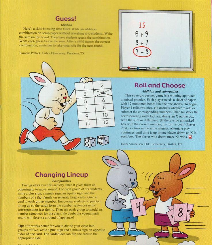 Mrs. Samuelson's Swamp Frogs: Mailbox Magazine Game Idea Dec./Jan. 2009-10