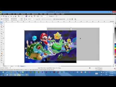 Imprimir imagenes para sublimar desde corel - YouTube