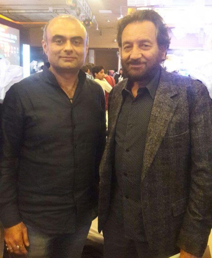With Shekhar Kapur