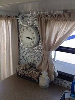 Smart Tiles back splash for RV You can hammer a nail right through them!  Easy decorating