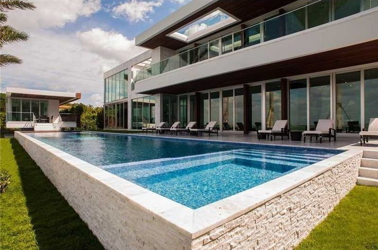 104 b sta bilderna om pool och spa material omgivning p pinterest villor pooler och spas - Eigentijds pergola design ...