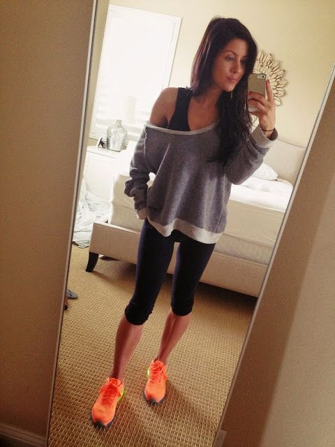 .Cute workout outfit!