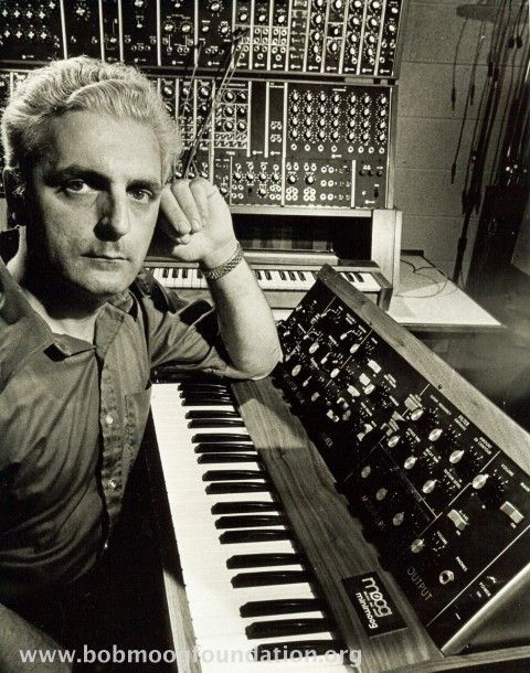 Bob Moog (May 23, 1934 – August 21, 2005), founder of Moog Music, pioneer of electronic music and inventor of the Moog synthesizer.