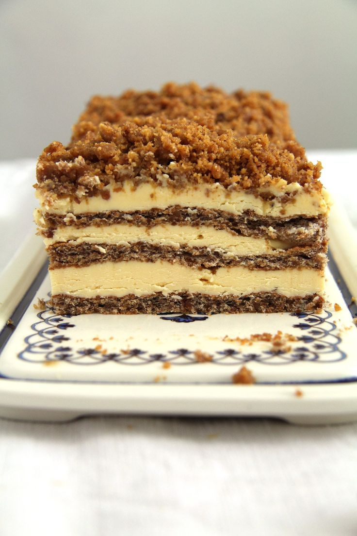 Caramelized Walnuts Buttercream Cake