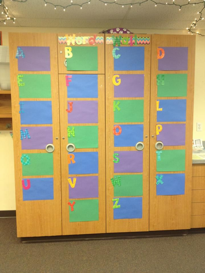 Word Wall: Laminate The Pages And Write With A Dry Erase Marker. Easy