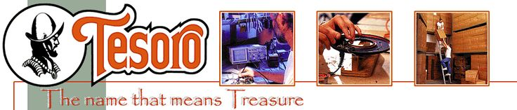 Tesoro Metal Detectors Will be at the Quartzsite Gold Show- Official company web site with metal detector models for treasure hunting land or water. QuartzsiteAZGoldShow.com