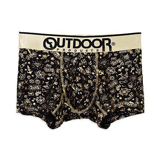 (アウトドアプロダクツ)OUTDOOR PRODUCTS タトゥーボクサーパンツ/メンズ AC2011B130 980 ゴールド L