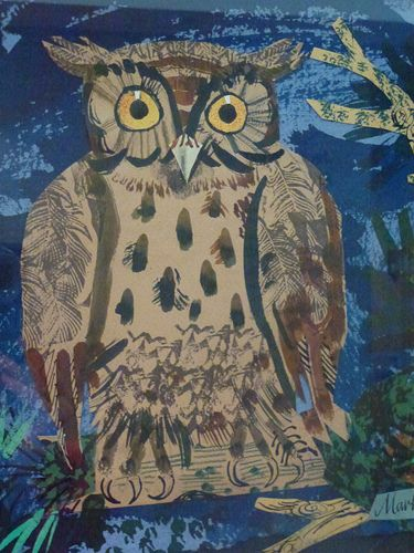 """Mark Hearld's """"Birds & Beasts"""" exhibition at the Yorkshire Sculpture Park, 2012"""