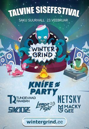 Winter Grind 23.2. on iso elektronisen musiikin tapahtuma, joka tuo genren kansainvälisiä tähtiä Saku Suurhalliin. Esiintymässä nähdään mm. Knife Party, Tungevaag & Raaban ja Netsky. Mukana on myös Viron kuuma nimi Lemon Fight. #eckeröline #tallinna