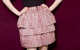 Lily Q Talks Clothes: DIY: No Sew Skirt