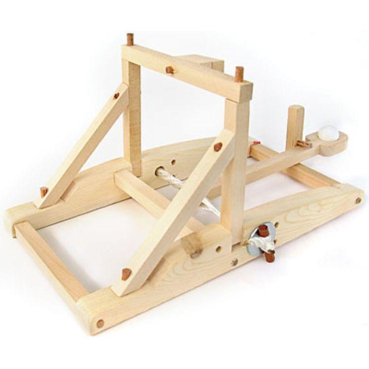 """Kit para Construir una Catapulta de Madera """"Pathfinders""""                                                                                                                                                                                 Más"""