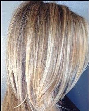 multi tonal blonde