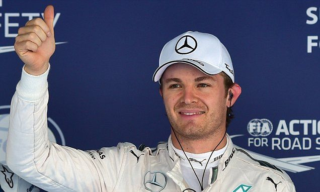 Nico Rosberg secures pole position for Russian Grand Prix #DailyMail