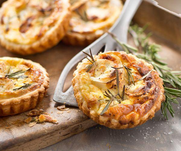 Recette facile de #tartelettes au #chèvre, #miel et #romarin