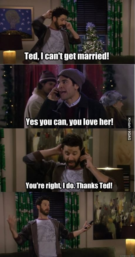 Thanks Ted! HIMYM