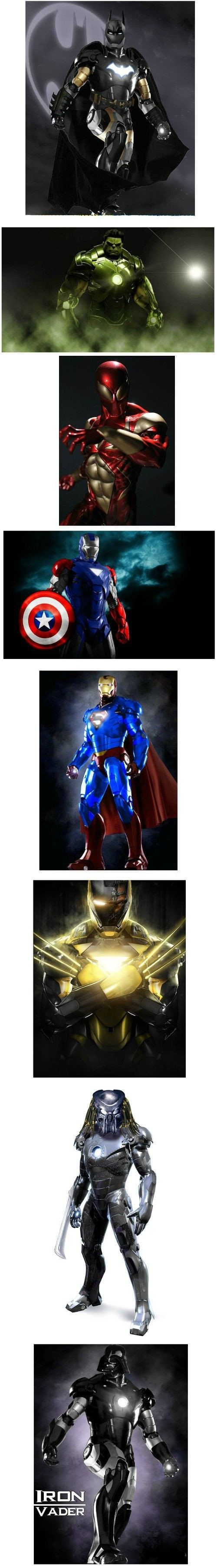 Superheroes in Iron Man suit - Superheroes,Iron…