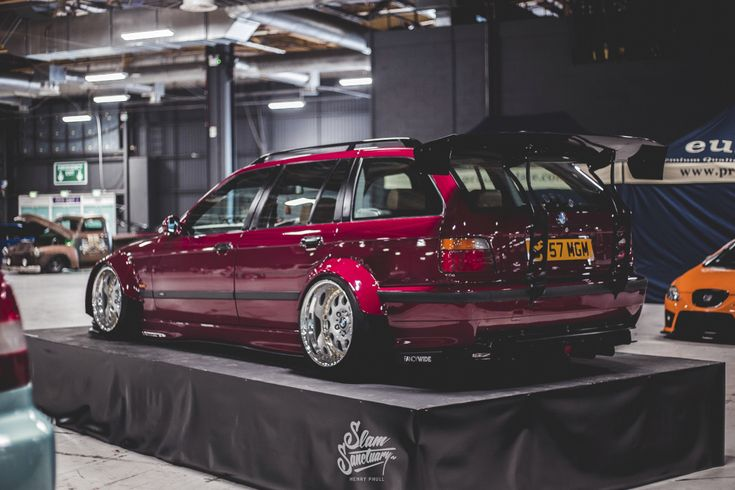 Edward Johnston's wide-body BMW E36 Touring w/S50 M3 conversion, Air…