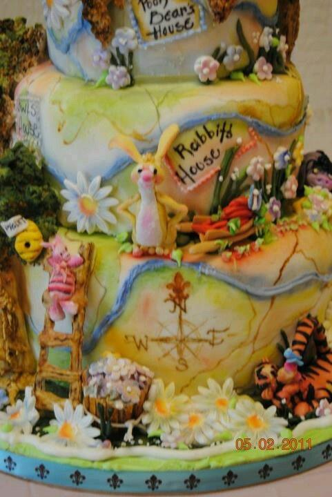 wood cake eeyore party cakes beautiful cakes acre bakeries cake ...