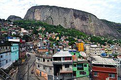 Rocinha, Rio de Janeiro (maior favela do Brasil)