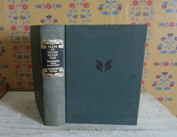 Tales Of Edgar Allen Poe Collectible Book Wood Engravings