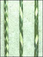 how to weave a four strand cord of flax - Google Search
