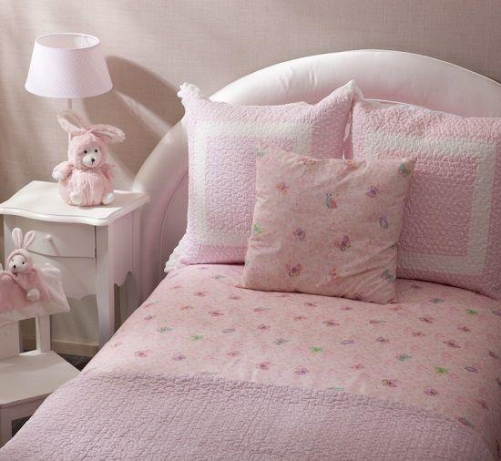 Textiles habitaci n ni a for Cama infantil nina