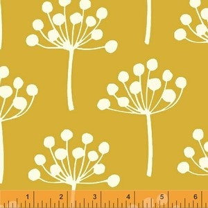 Lotta Jansdotter - Echo - Spring Buds in Mustard