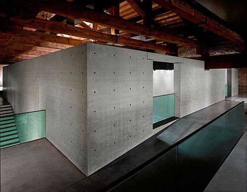 Amazing architecture by Tadao Ando in Venice, Punta della Dogana.