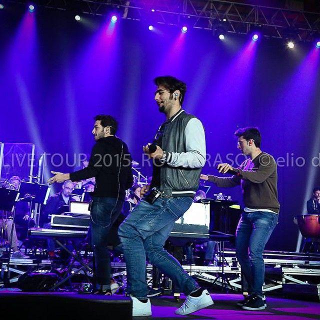 #ilvolo #roccaraso shared by @eliodas #IlVoloLive2015 #rehearsal
