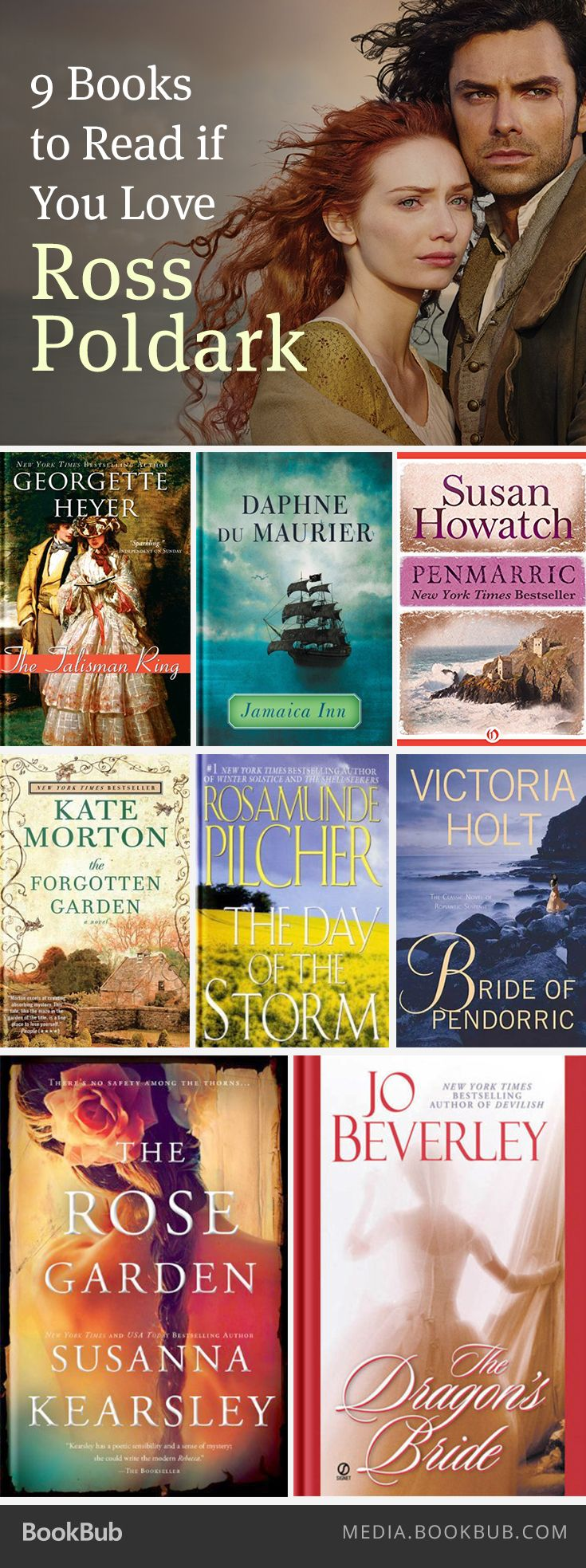 9 Books To Read If You Love 'ross Poldark'