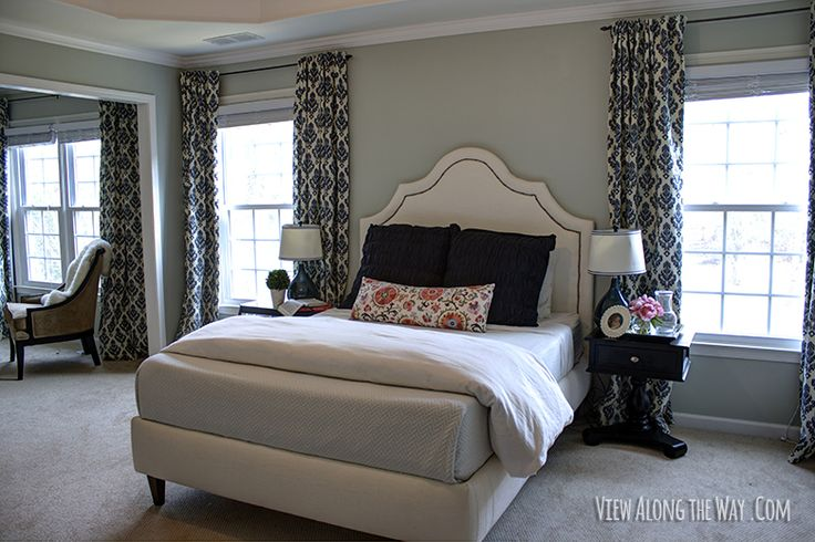 Upholstered Bed Tutorial - from View Along the Way