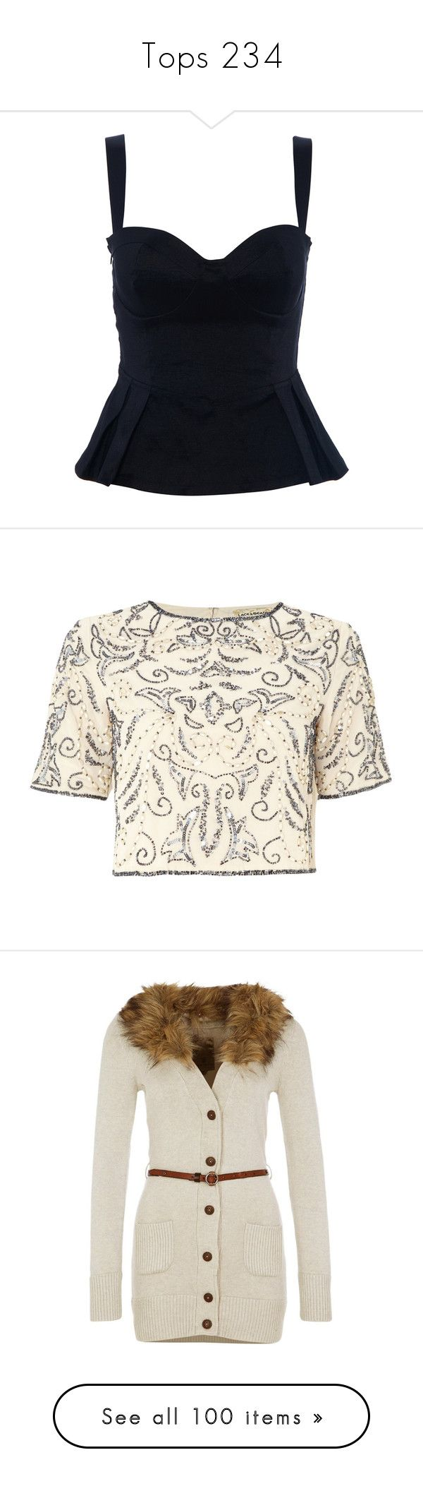 """""""Tops 234"""" by singlemom ❤ liked on Polyvore featuring intimates, camis, tops, ruffle cami, outerwear, jackets, cream, sale, white cropped jacket and cream lace jacket"""