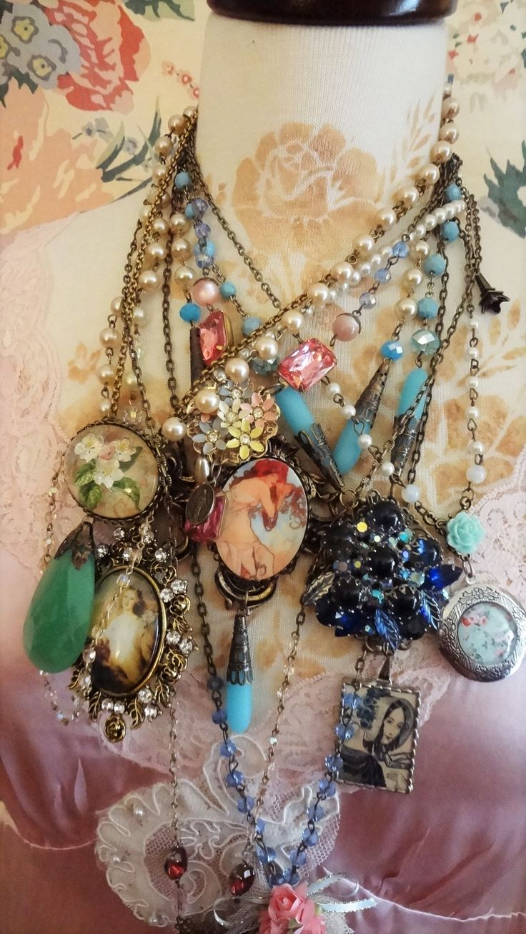 Bertha Louise Designs... One of a Kind Jewelry Confections....