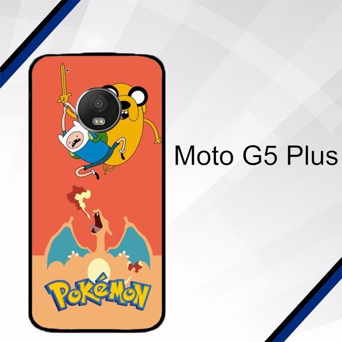 Adventure Time Jake POKEMON W3008 Motorola Moto G5 Plus Case