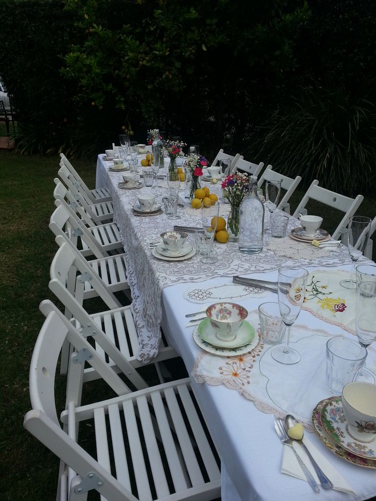 Milk and Sugar Events. Vintage High Tea Event Planning and Styling.
