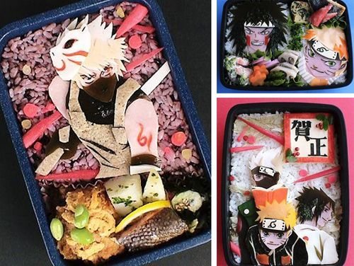 Naruto Bento boxes = awesome!