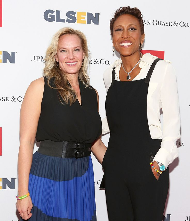 Robin Roberts and Amber Laign