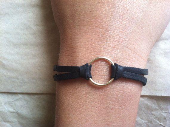 Gold Eternity Bracelet by ALEPHTAVJEWELRY on Etsy, $25.00