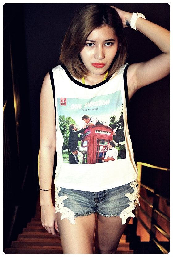 One Direction Shirt Tank Tops Pop Teen Sexy Summer By