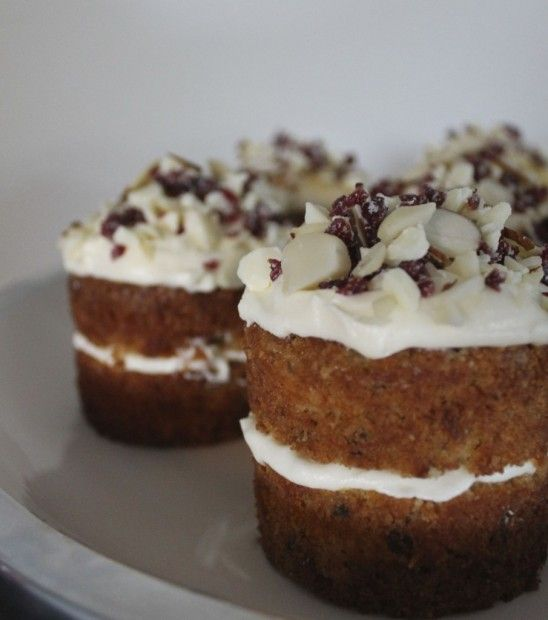 Apricot and Walnut Carrot Cake