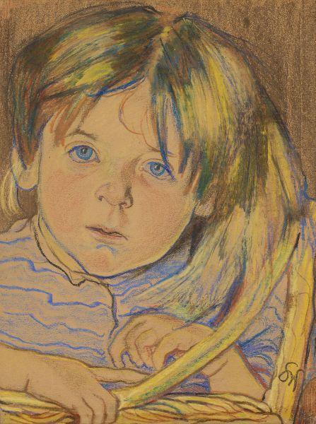 Portret dziecka - Stanisław Wyspiański